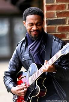 Singer-songwriter Alvin Frazier.