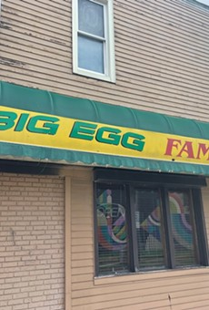 The Big Egg has clsoed