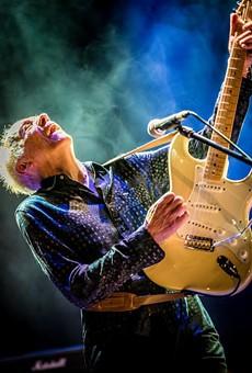 Guitarist Robin Trower.