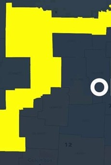 """Co-Chair of the Ohio Redistricting Commission, Ohio House Speaker Bob Cupp, R-Lima, represents the gerrymandered """"duck district,"""" an area that touches 14 counties."""