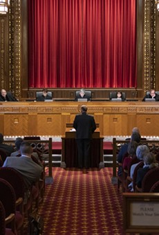 Justice DeWine says he won't recuse himself from redistricting suits