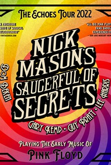 Artwork for Nick Mason's Saucerful of Secrets upcoming tour.