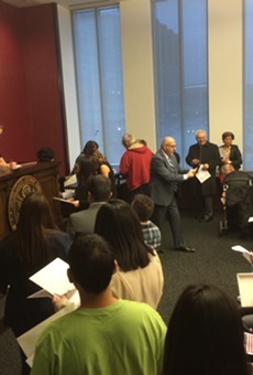 Cleveland Welcomes Dozens of New U.S. Citizens in Naturalization Ceremony