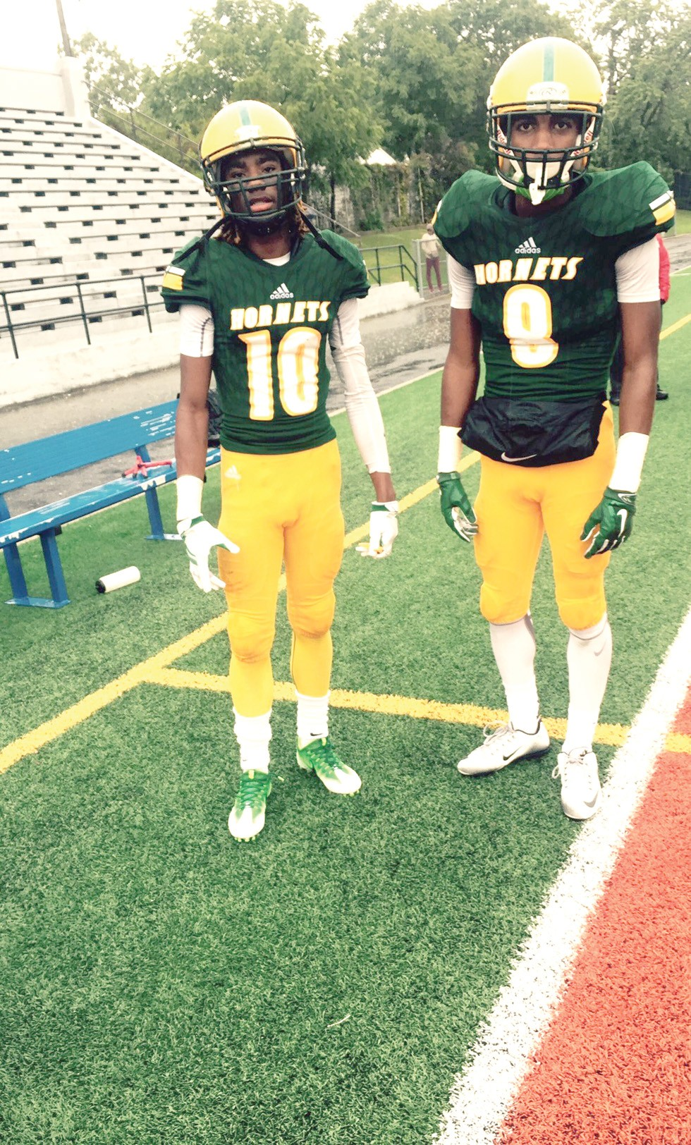 Mike Chappman and Javaughn Williams - PHOTO COURTESY OF JAVAUGHN WILLIAMS