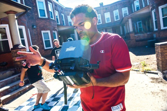 Steven Caple, Jr., directing in Cleveland - KEN BLAZE