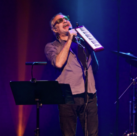 Steely Dan's Walter Fagen performing at Hard Rock Live last year. - SCOTT SANDBERG