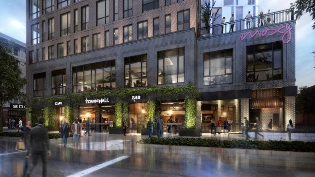 RENDERING OF SHORT NORTH TOWNHALL