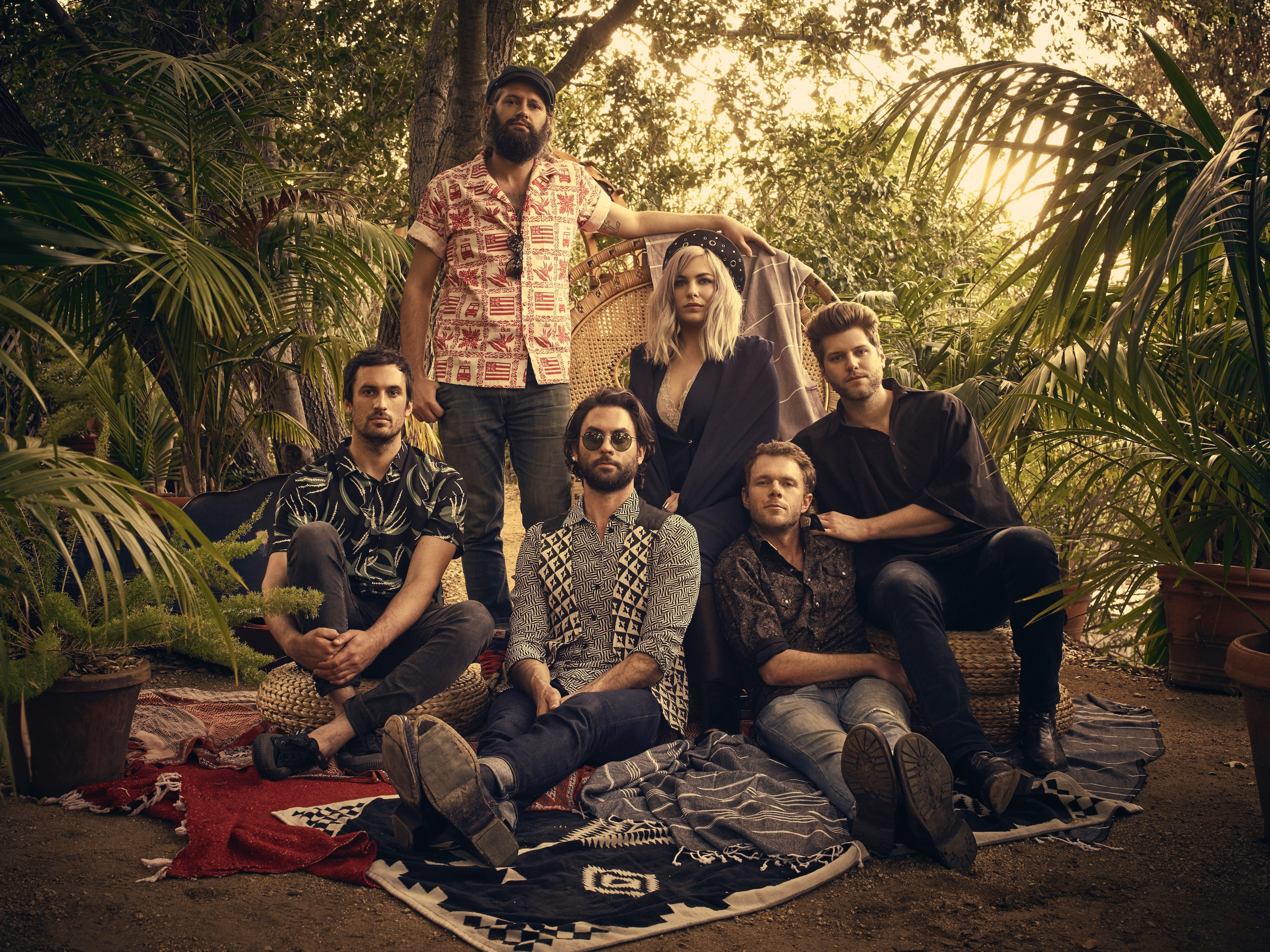 The Head and the Heart and Nathaniel Rateliff & the Night Sweats to