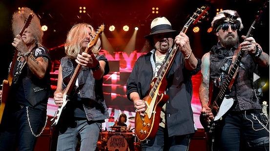 Lynyrd Skynyrd performing at Blossom in 2014. - JOE KLEON