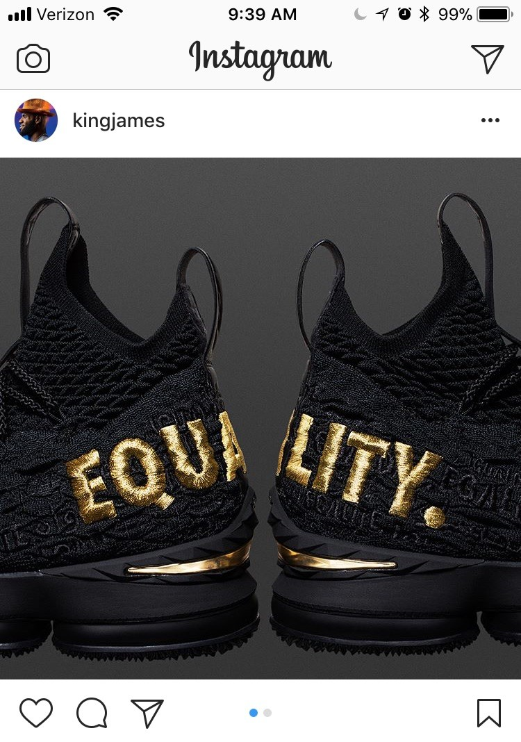new product 25fe6 72862 Proceeds from LeBron's 'Equality' Kicks Will Go to African ...