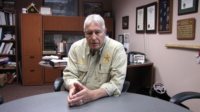 DAVID DOAK HAS BEEN PORTAGE COUNTY SHERIFF SINCE JANUARY 2009. (BEN ORNER)