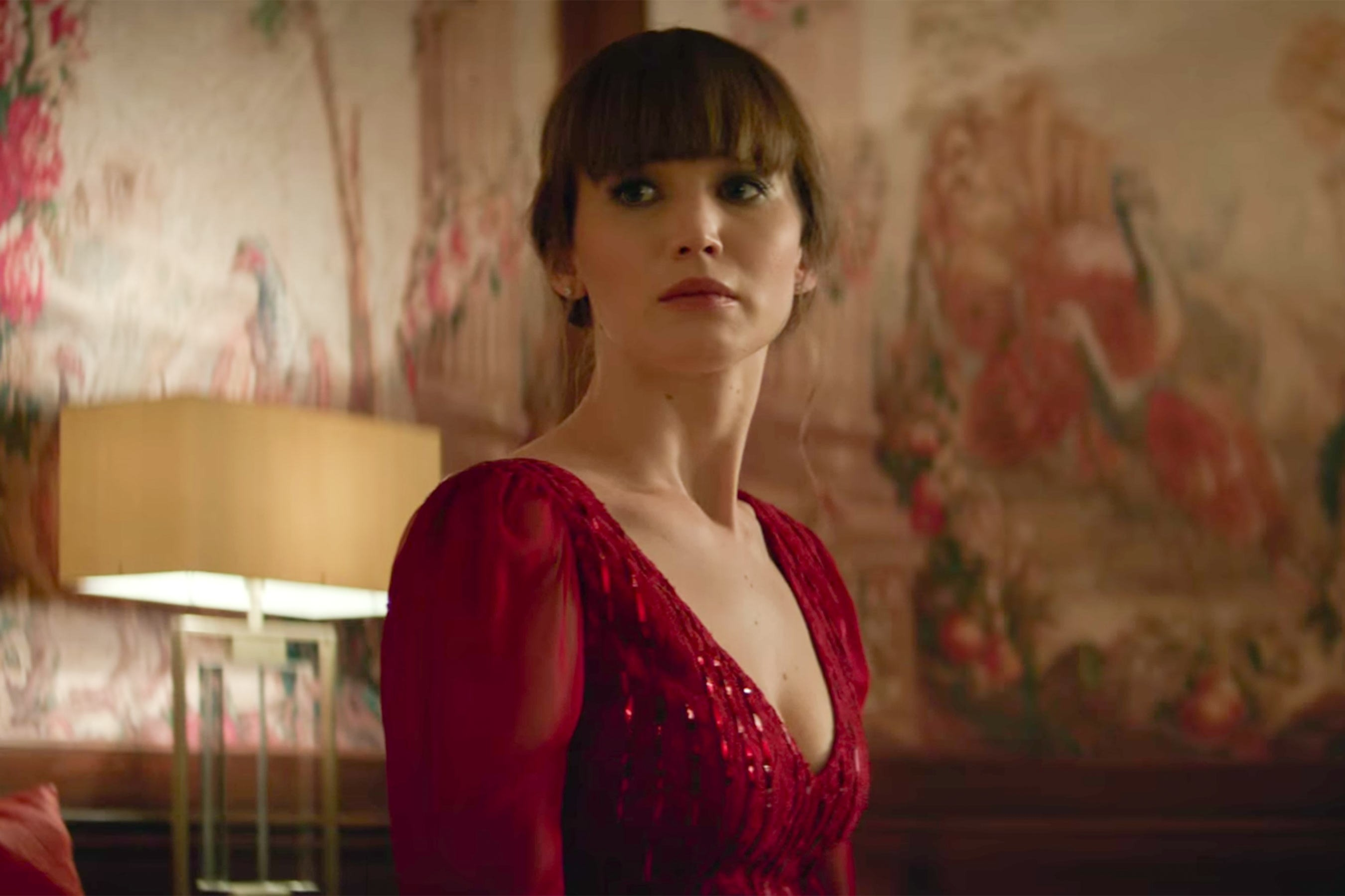Jennifer Lawrence Nude Strip From Red Sparrow