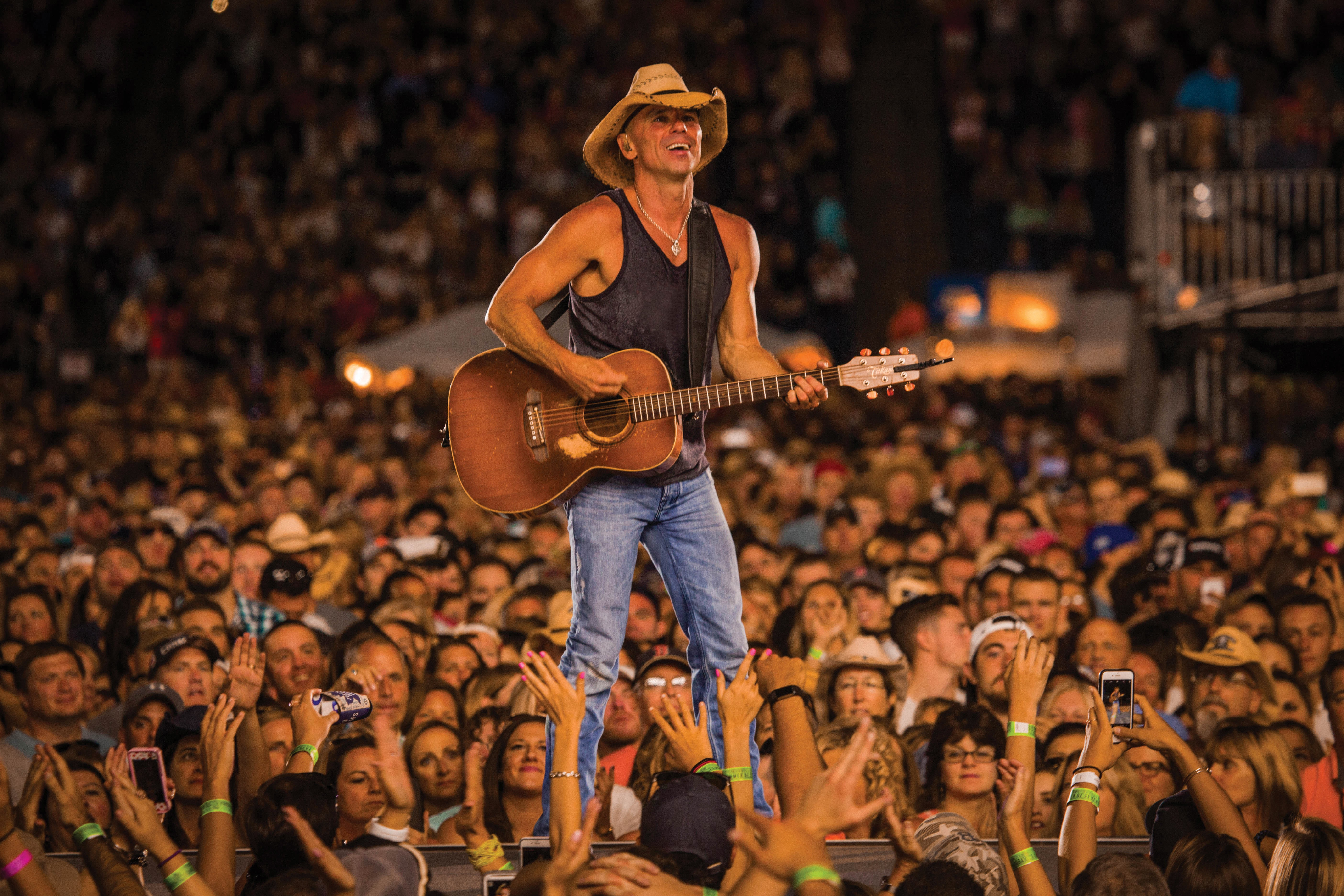 Magnificent Kenny Chesney To Perform At Blossom In June Scene And Beutiful Home Inspiration Ommitmahrainfo