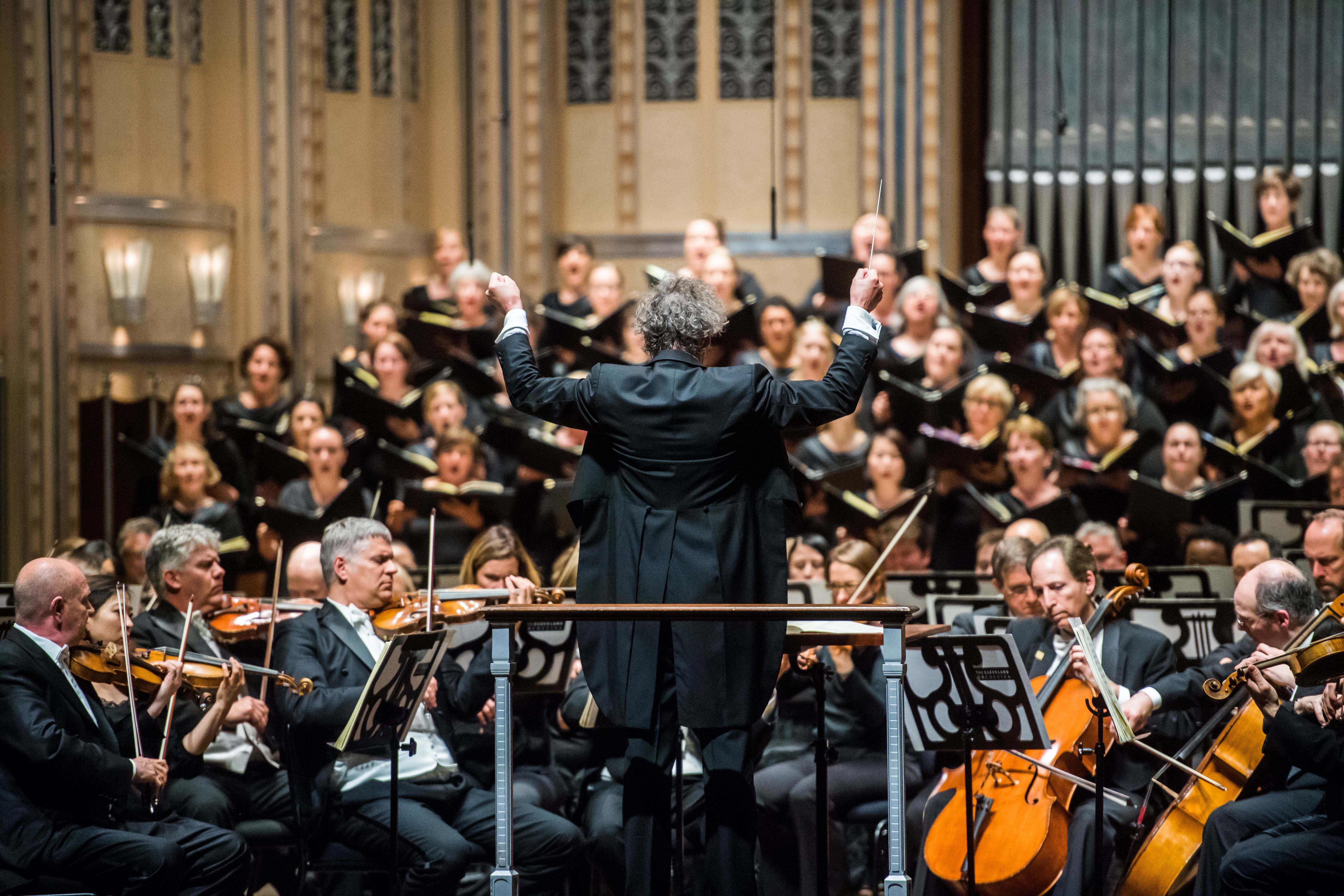 surviving five glorious nights of beethoven symphonies, with the
