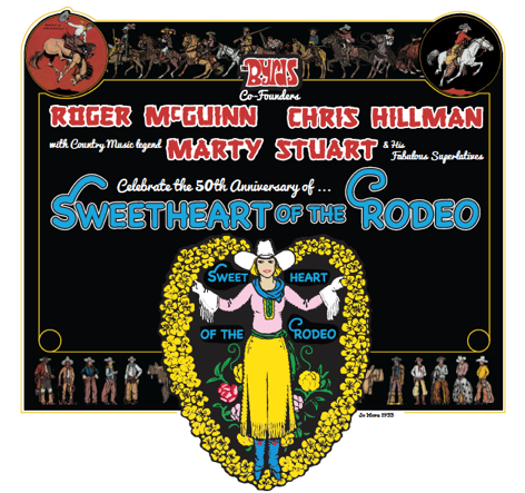 sweetheart of the rodeo anniversary tour coming to akron civic
