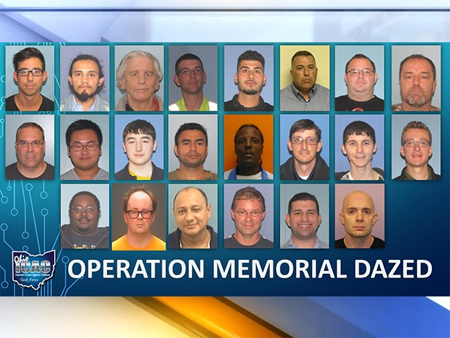 Cuyahoga County Undercover Sting Operation Arrests 22 Men