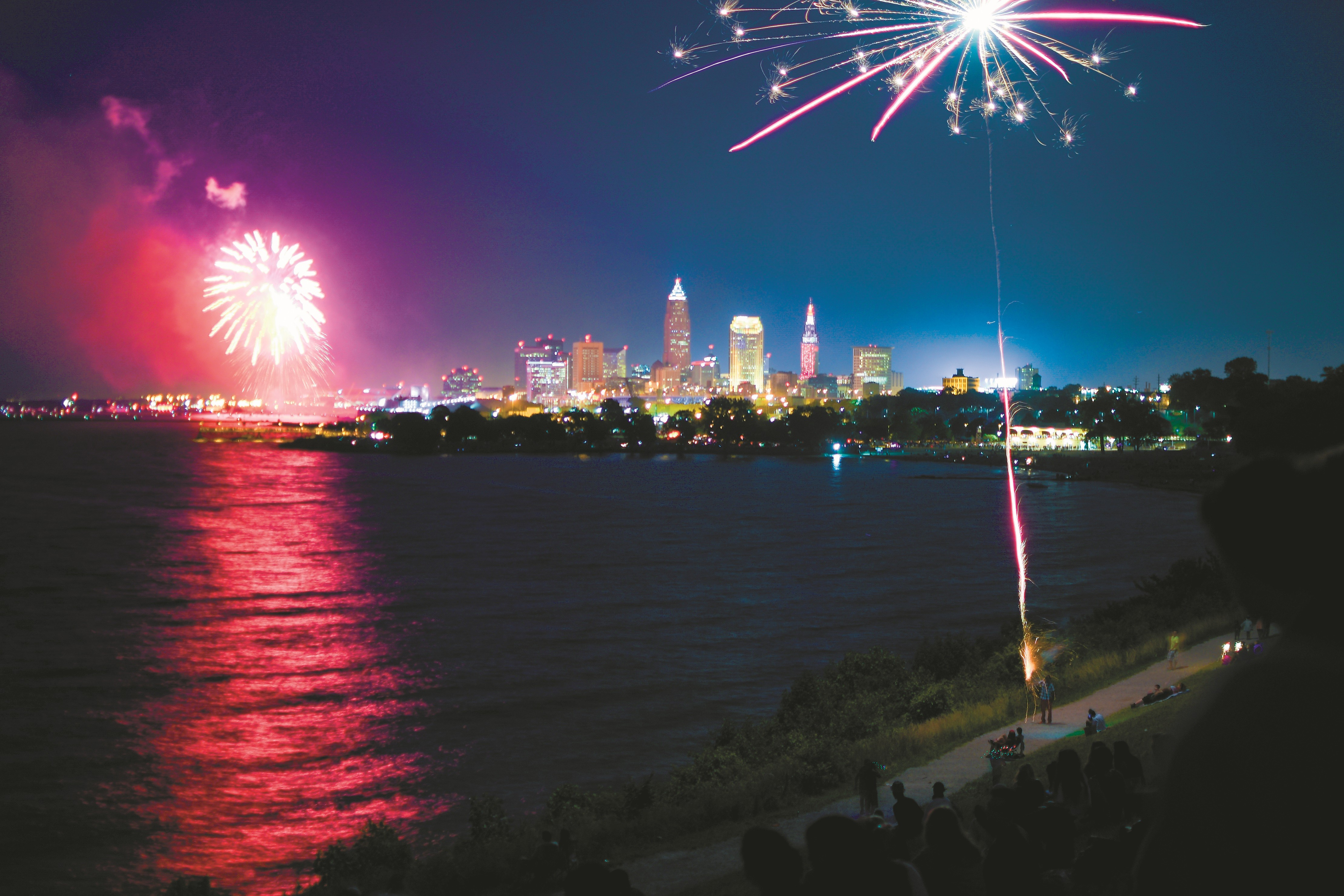 9642fba2841f3 Where to Catch Fourth of July Fireworks in the Cleveland Area ...