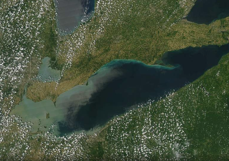 Mini Algae Blooms Arrive Earlier, Larger Than Normal as Lake Erie Temps Touch 80-Degrees