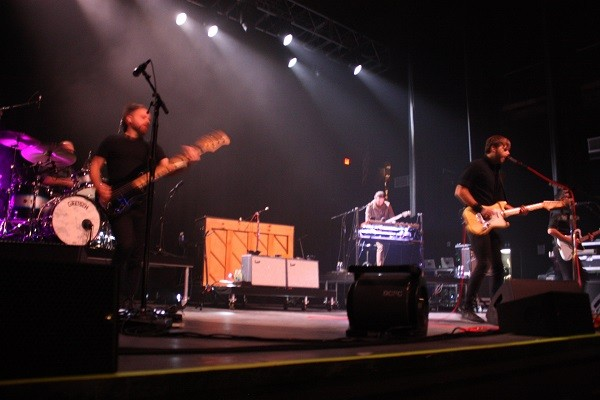 Death Cab For Cutie playing the Agora Tuesday night. - PHOTO BY LAURA MORRISON