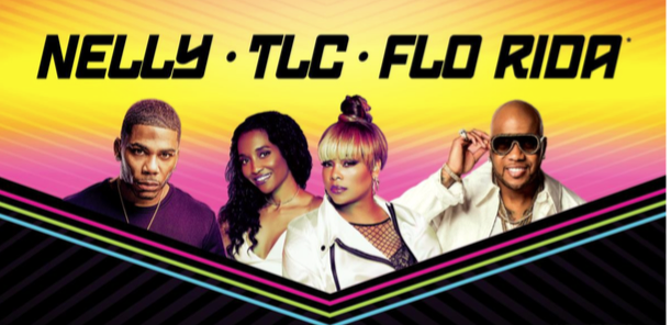 triple bill featuring nelly tlc and flo rida coming to. Black Bedroom Furniture Sets. Home Design Ideas