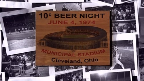 Watch the SportsCenter Feature About 10-Cent Beer Night, Celebrating Its  45th Anniversary Today | Scene and Heard: Scene's News Blog
