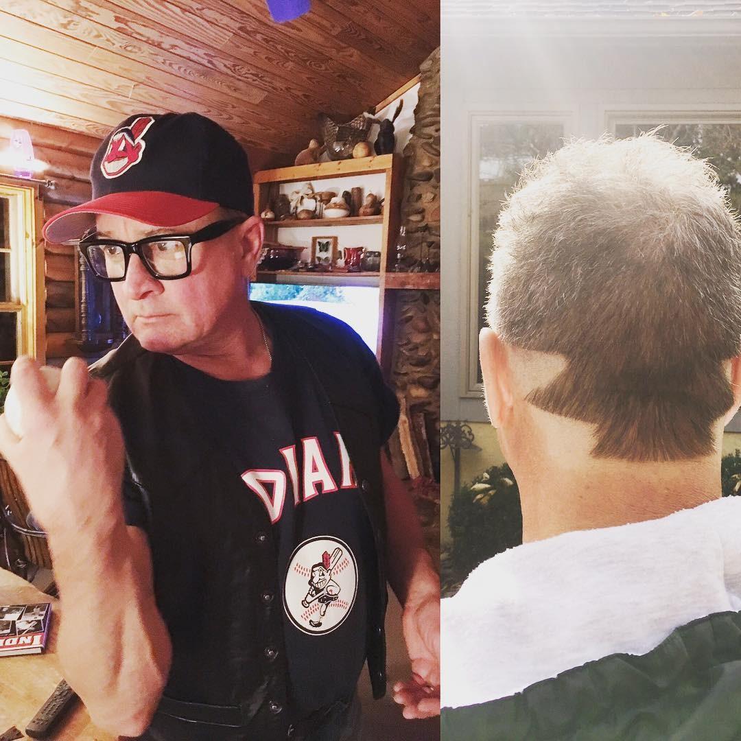 thing haircut major league