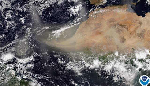 Saharan Dust Cloud Could Cause Breathing Problems In Oklahoma