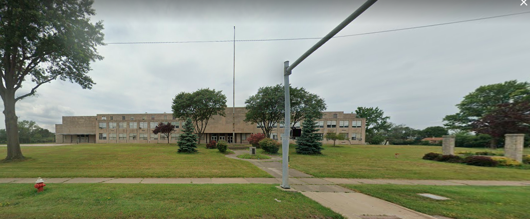 The former St. Peter Chanel High School building. - GOOGLE STREET VIEW