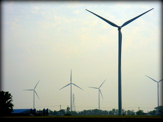Wind farm in Van Wert, Ohio - CHARLES CARPER
