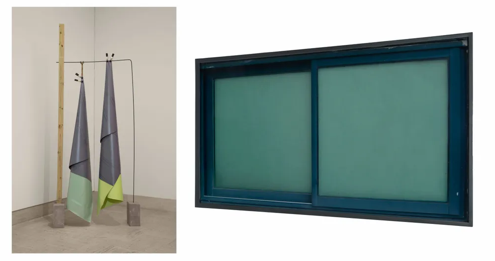 'SUPERMAN II' (LEFT) AND 'MOMENTS OF PLACE II' (RIGHT)
