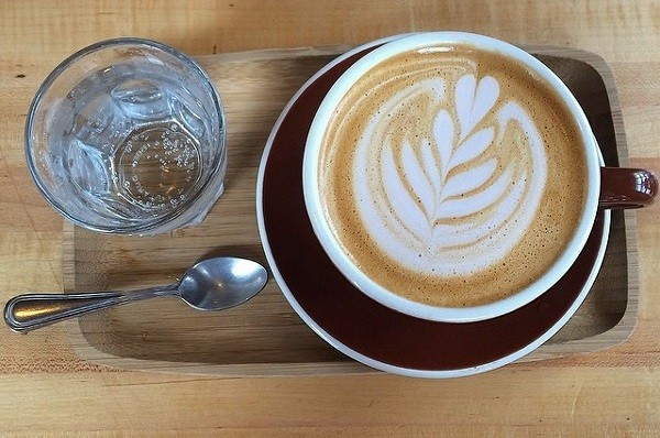 A freshly brewed cup of coffee from Rising Star. - SCENE ARCHIVES