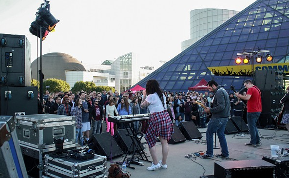A mix of local and national acts will play the Rock Hall this summer. - EMANUEL WALLACE