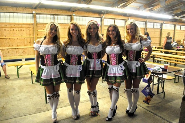 Oktoberfest returns for two weekends this year. - SCENE ARCHIVES PHOTOS