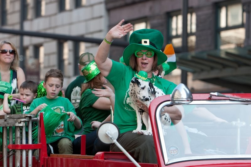 COURTESY CLEVELAND'S ST. PATRICK'S DAY PARADE