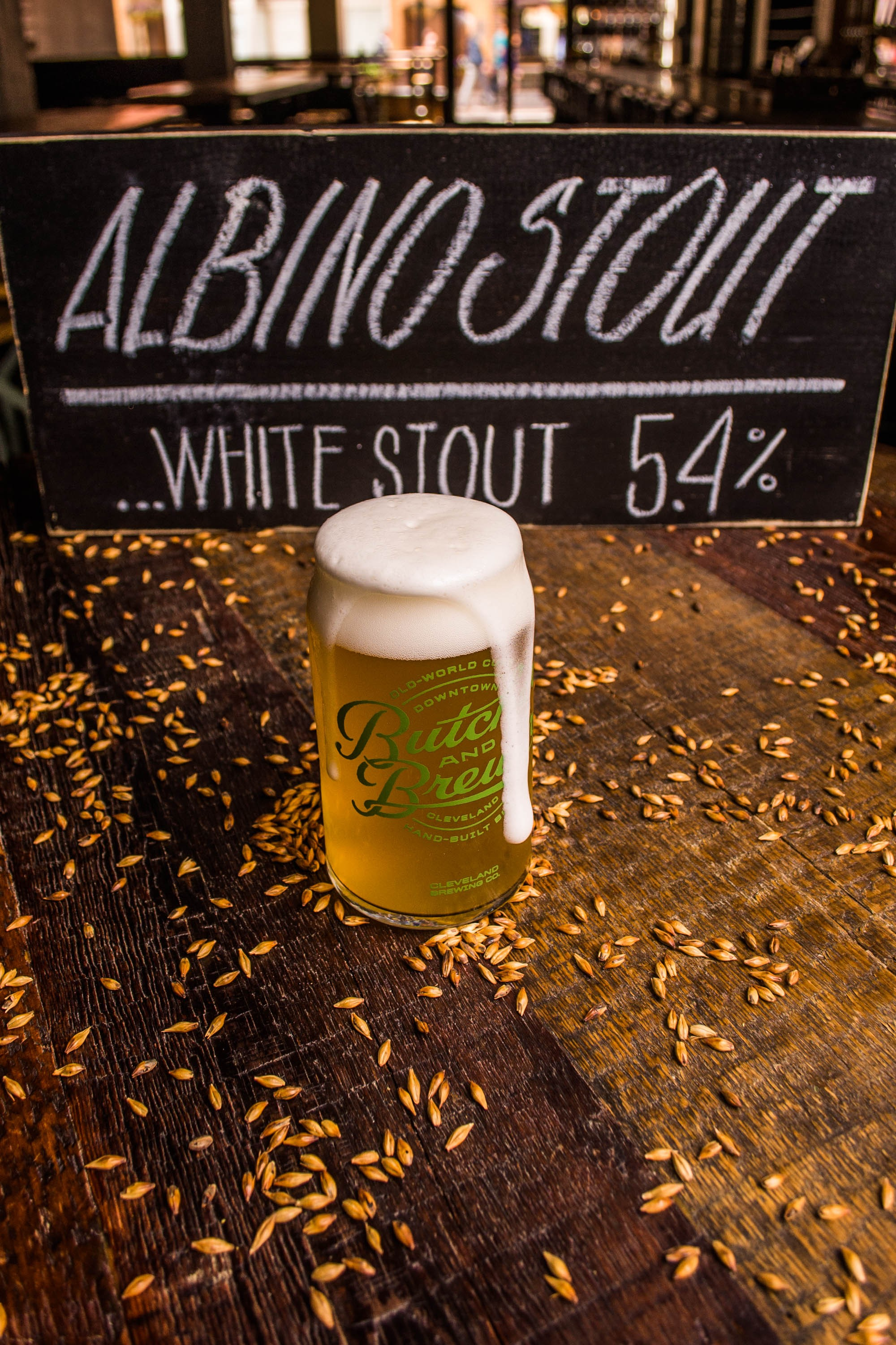 Image result for Butcher & The Brewer - Albino Stout