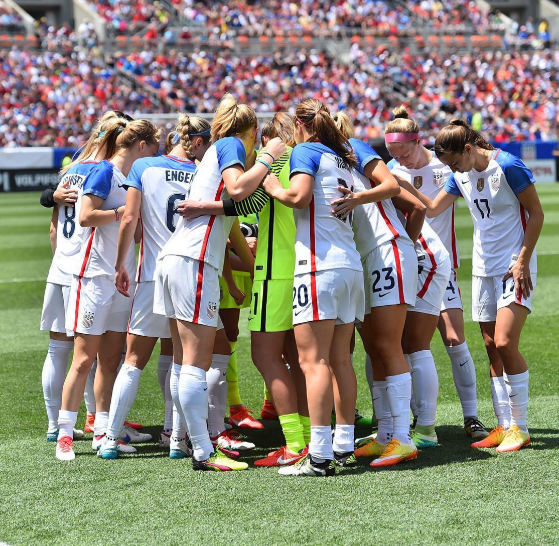 US Women's National Soccer Team Wins in Cleveland After ...