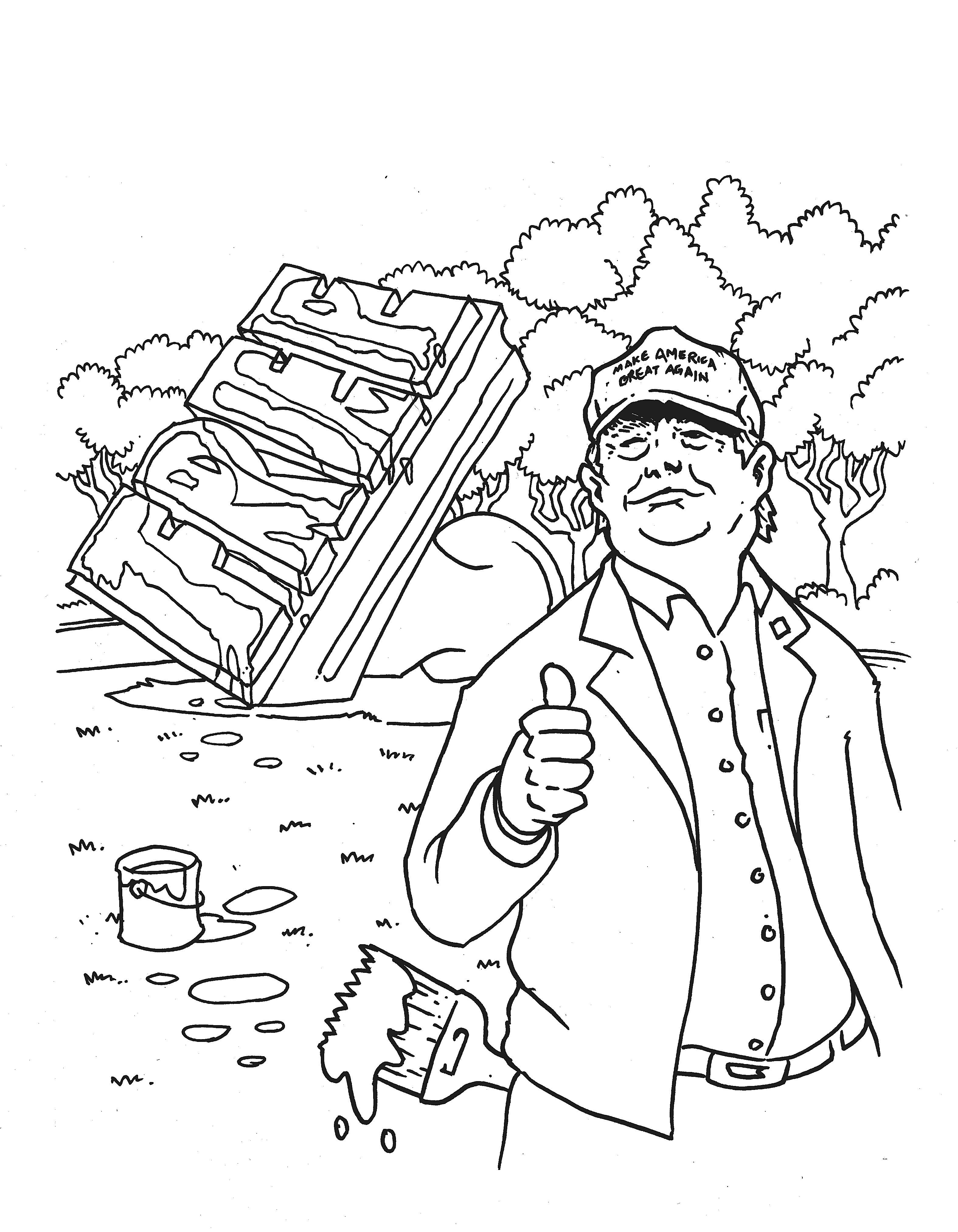 An RNC Coloring Book Because If They Can Act Like Children So