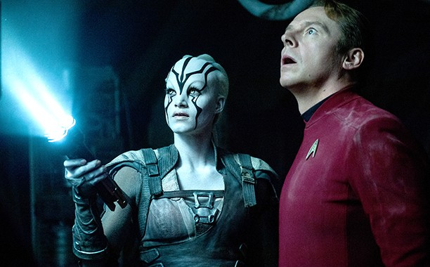 Are Jaylah and Scottie the main characters in Star Trek: Beyond? It's anybody's guess.