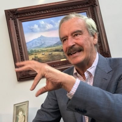 Former Mexican President Vicente Fox.
