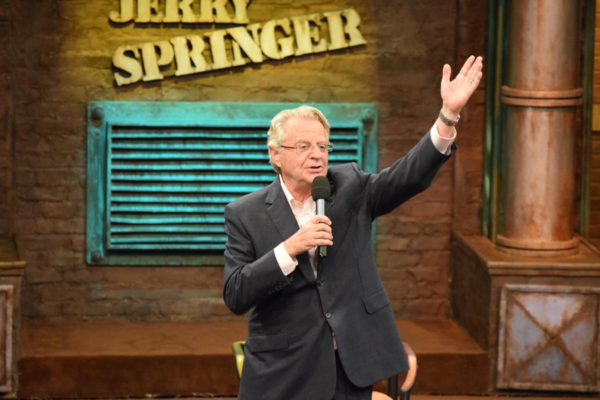JERRY SPRINGER: Talkshow-König wegen Mordes