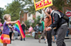Seven-Year-Old Ohio Girl Stands Up to Anti-Gay Activist