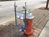 Check Out the City of Cleveland's Nifty Makeshift Water Fountains This Week