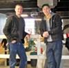 James Redford (left) and Shaun Yasaki
