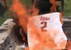 People are Actually Burning Kyrie Irving's Jersey