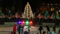 Downtown Cleveland's Bigass Christmas Tree Will Be Lit November 25th