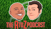 Kluber, Steph Curry and R.I.P. Rubber Bowl — The A to Z Podcast With Andre Knott and Zac Jackson