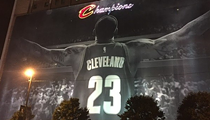 The LeBron Banner is Coming Down Today