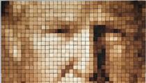 Saltine Cracker Portrait of President Trump to Go On Display at 78th Street Studios