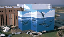 Gigantic Cleveland Whale Mural Off I-90 is Getting a Fresh Update This Week