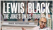 Win a pair of tickets to see Lewis Black at the MGM Northfield Park